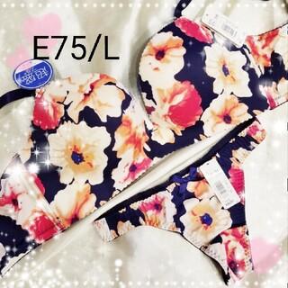 エメフィール(aimer feel)の♡aimerfeel♡超盛ブラ&Tバックset♡E75/L♡(ブラ&ショーツセット)