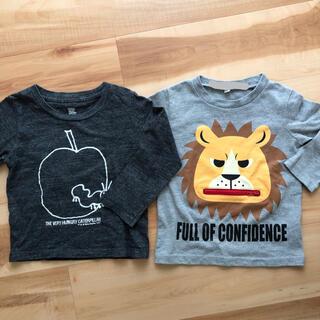 グラニフ(Design Tshirts Store graniph)のロンT 2枚セット 美品 はらぺこあおむし(Tシャツ/カットソー)
