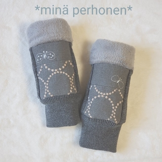 ミナペルホネン(mina perhonen)のハンドウォーマー ミナペルホネン choucho タンバリン ハンドメイド(手袋)