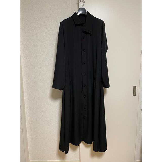 Yohji Yamamoto(ヨウジヤマモト)のyohjiyamamotopourhomme18awカシドスロングドレス シャツ メンズのトップス(シャツ)の商品写真