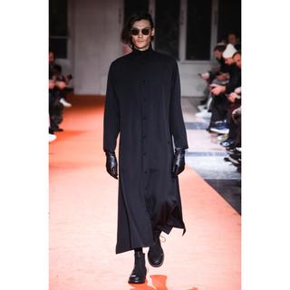 Yohji Yamamoto - yohjiyamamotopourhomme18awカシドスロングドレス シャツ