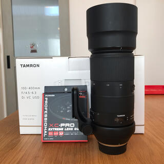 TAMRON - タムロン100-400mm F/4.5-6.3 Nikon 純正三脚座付き