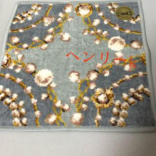 FEILER - フェイラー  ユーフォリア  カドゥメールハンカチ 真珠柄 グレー ラメ入