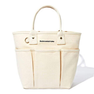 BARNYARDSTORM - 新品 BARNYARDSTORM  立体ポケット付き トートバッグ
