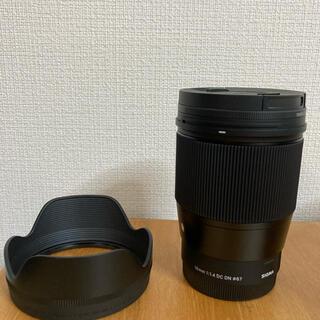 シグマ(SIGMA)のSIGMA 16mm F1.4 DC DN ソニーEマウント(レンズ(単焦点))
