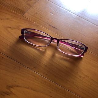 ジンズ(JINS)のJINS 度入りメガネ だいぶ古くてキズだらけなので格安(サングラス/メガネ)