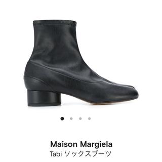 マルタンマルジェラ(Maison Martin Margiela)のマルジェラ 足袋ブーツ 41 ソックスブーツ (ブーツ)