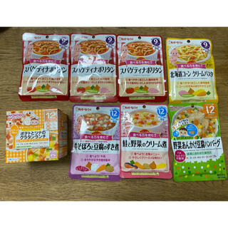 キユーピー - 離乳食まとめ売り☆ベビーフード 9ヶ月×4袋、12ヶ月×3袋と1箱