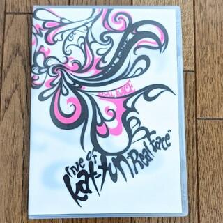 """カトゥーン(KAT-TUN)のLive  of  KAT-TUN """"Real Face""""  DVD  亀梨和也(舞台/ミュージカル)"""