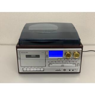 多機能レコードプレーヤーCDカセット再生