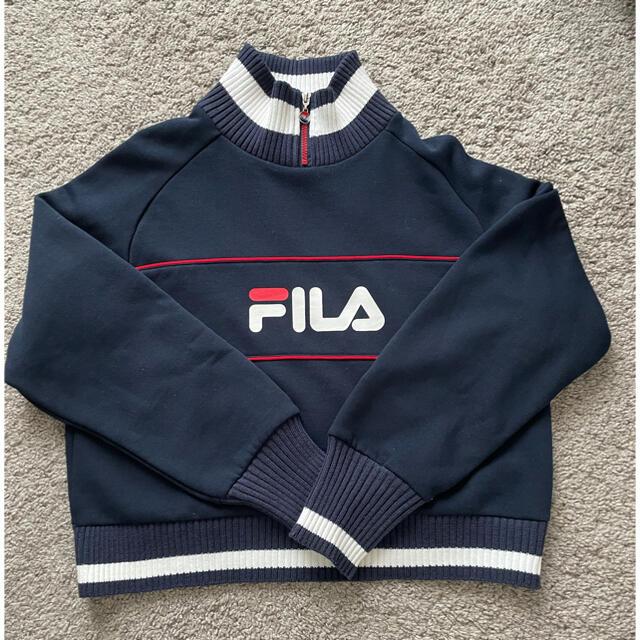 FILA(フィラ)の新品未使用 FILA ロゴスウェット レディースのトップス(トレーナー/スウェット)の商品写真