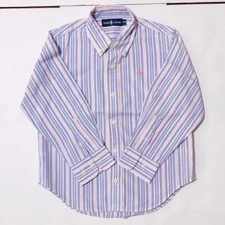 ラルフローレン(Ralph Lauren)のラルフローレン ストライプシャツ(ブラウス)