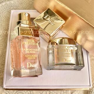 Dior - 【9,203円相当】ラクレーム 新製品 マイクロユイルドローズセラム 専用BOX