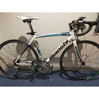 ビアンキ(Bianchi)の【直接引渡可】Bianchi Via Nirone Tiagra 53サイズ(自転車本体)