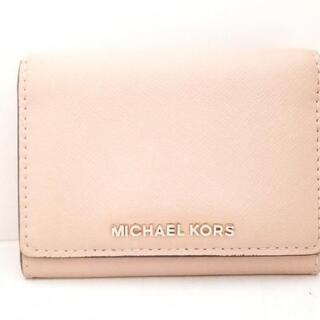 マイケルコース(Michael Kors)のマイケルコース 2つ折り財布 - レザー(財布)