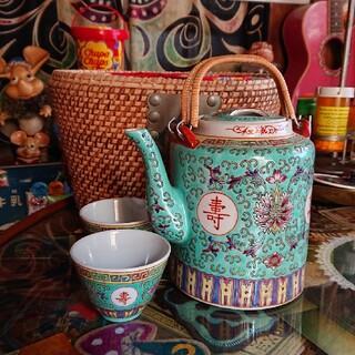 中国景徳鎮 ヴィンテージ茶器(食器)