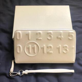 マルタンマルジェラ(Maison Martin Margiela)のmaison margiela エンボス加工 財布 ウォレット(財布)