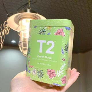 《新品未開封》T2 ティーツー グリーンローズ 100g(茶)