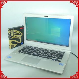 SONY - 新品SSD 中古ノートPC SONY SVT14119CJS i5 Win10