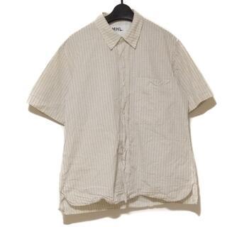 マーガレットハウエル(MARGARET HOWELL)のマーガレットハウエル 半袖シャツ サイズM(シャツ)