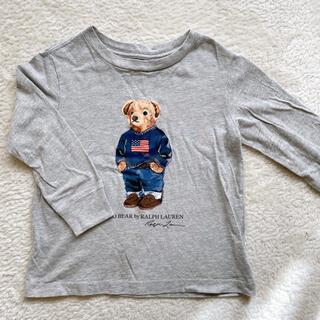 ラルフローレン(Ralph Lauren)のラルフローレン ポロベア ロンT 2y 90(Tシャツ/カットソー)