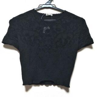 miumiu - ミュウミュウ 半袖セーター サイズ36 S -