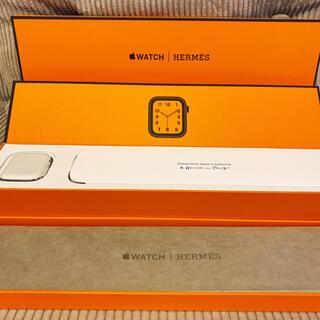 アップルウォッチ(Apple Watch)のApple Watch 6 Hermès Edition 40mm 付属品多数(腕時計(デジタル))