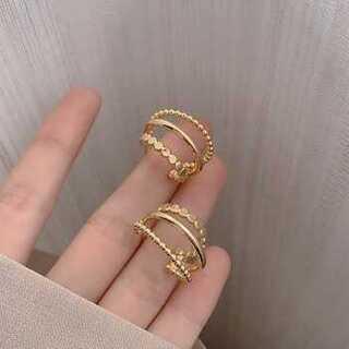 Mila Owen - #861 import pierce : threeline gold