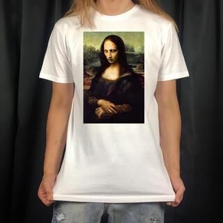 マリリンマンソン モナリザ オリジナル デザイン プリントTシャツ