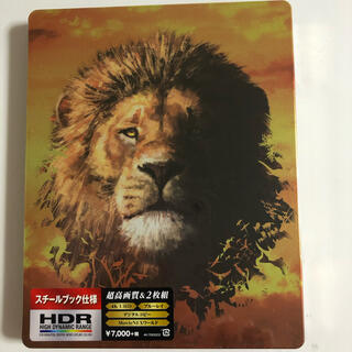 ディズニー(Disney)のライオン・キング 4K UHD MovieNEX スチールブック('19米)(外国映画)