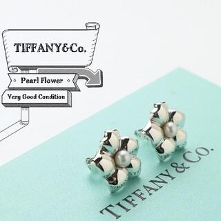 Tiffany & Co. - 新品仕上げ 希少 TIFFANY ティファニー パール フラワー ピアス