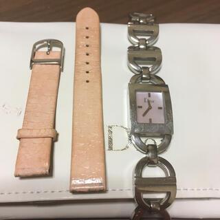 Christian Dior - 値下げ!稼動品 Dior ディオール 腕時計 ピンクシェル シルバー マリス