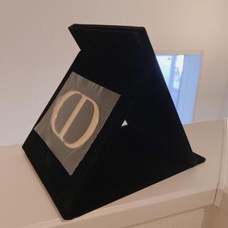 ディオール(Dior)のDior❤️ノベルティー/ロゴ入りミラー/ベロア  (ミラー)