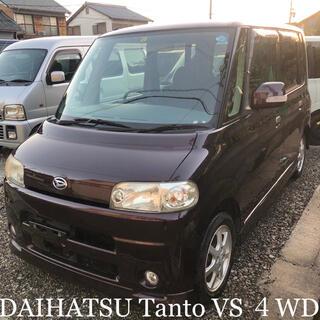 ダイハツ - 19年式 タントVS 4WD L360S【Tベルト交換済】☆内装ブラック☆