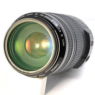 キヤノン(Canon)のEF70-300mm F4-5.6 IS USM キヤノン(レンズ(ズーム))