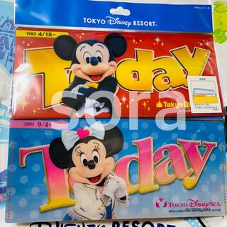 ディズニー(Disney)の再販☆ ディズニー 実写 チケットケース today ケース マスクケース(キャラクターグッズ)