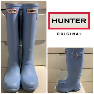 ハンター(HUNTER)のハンター オリジナルトール ライトブルー レインブーツ(レインブーツ/長靴)