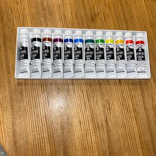 ターナー色彩 アクリルガッシュ 12色スクールセット AG12C 11ml(絵の具/ポスターカラー)