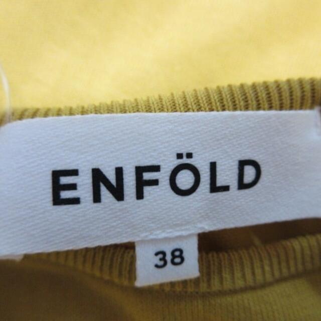 ENFOLD(エンフォルド)のエンフォルド ノースリーブカットソー 38 M レディースのトップス(カットソー(半袖/袖なし))の商品写真
