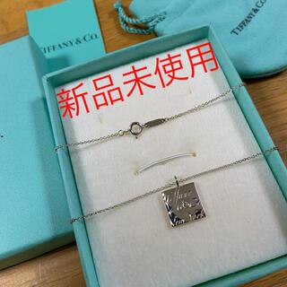 Tiffany & Co. - ☆値下げ☆ティファニー ノーツ スクエア ネックレス ☆新品☆