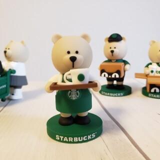スターバックスコーヒー(Starbucks Coffee)のスターバックス 中国オンライン限定 べアリスタ 店員  置物(ぬいぐるみ)