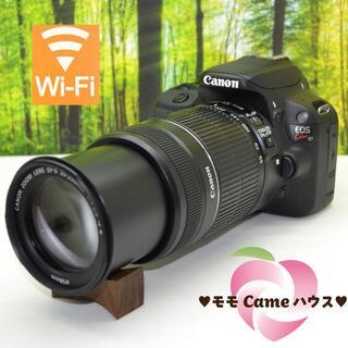 キヤノン(Canon)のキヤノン Kiss X7☆望遠レンズセット♪スマホに転送OK♪1397(デジタル一眼)