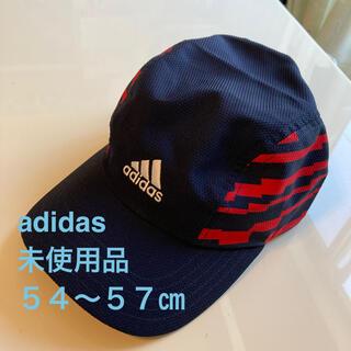 アディダス(adidas)の未使用品 adidasアディダス キッズサイズ キャップ/帽子 54〜57㎝(帽子)