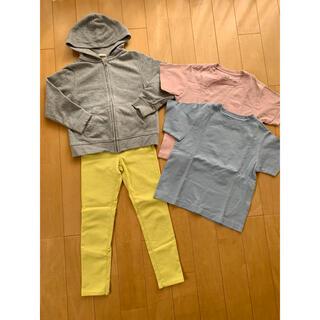 ジーユー(GU)のおまとめ売り GU 120.130(Tシャツ/カットソー)