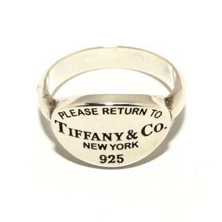 Tiffany & Co. - ティファニー リング リターントゥオーバル