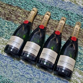 モエエシャンドン(MOËT & CHANDON)のモエシャンドン(750ml)×4本(シャンパン/スパークリングワイン)