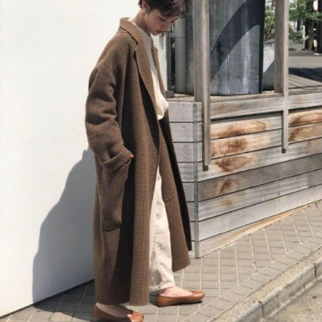 TODAYFUL(トゥデイフル)のトゥデイフル チェックオーバーコート レディースのジャケット/アウター(ロングコート)の商品写真