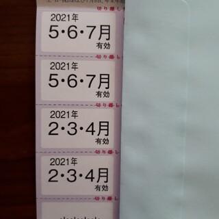 最新 東京テアトル 株主優待券 招待券4枚、提示割引証1枚(その他)
