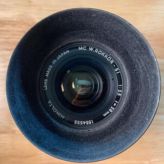 コニカミノルタ(KONICA MINOLTA)のminolta MC W.ROKKOR-SI 28mm f2.5(レンズ(単焦点))