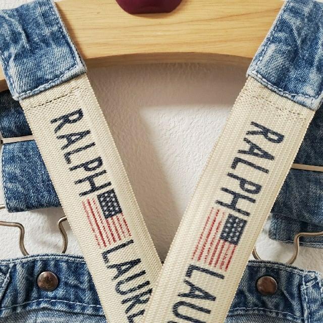 Ralph Lauren(ラルフローレン)の〈90〉ラルフローレン サロペット オーバーオール キッズ/ベビー/マタニティのキッズ服男の子用(90cm~)(パンツ/スパッツ)の商品写真